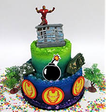 iron cake topper marvel alliance iron 2 3 cake topper