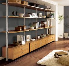 creating a wood shelving units home decorations