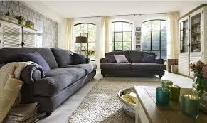 sofa im landhausstil wohnzimmer landhausstil möbelideen