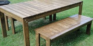 Dining Benches Bench Patio Party Table Beautiful Outdoor Table And Bench Patio