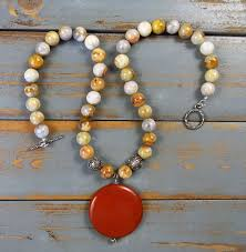 agate jewelry necklace images Handmade crazy lace agate necklace handmade jewelry jpg
