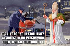 Memes De Santa Claus - when santa punched a heretic in the face 13 memes on st nicholas