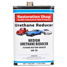 medium urethane reducer 70 to 85 deg temp range