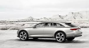 future audi a9 audi unveils prologue allroad concept ahead of shanghai debut