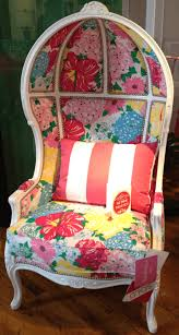 lilly pulitzer upholstered chairs available at vielle frances
