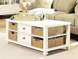 round wicker coffee table with storage u2013 mcclanmuse co