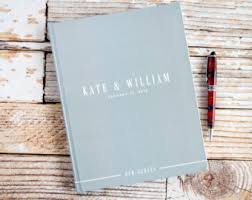 wedding guest keepsakes wedding guest book etsy