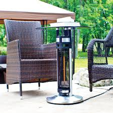 Patio Heater Deals by Energ Infrared Bistro Style Heater Table 4 760 Btu Patio