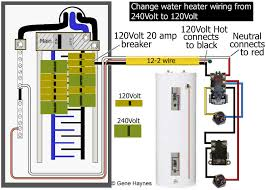 electric water heater wiring diagram to ge 500 at tank