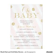oh baby blush pink gold glitter baby shower 13 cm x 18 cm
