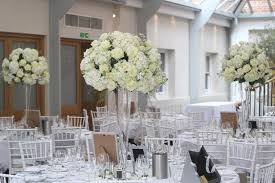 wedding flowers surrey beautiful opulent vase wedding flowers centrepieces of white