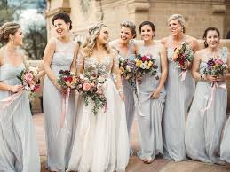 bridesmaid dress gray bridesmaid dresses to shop now