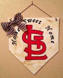 Baseball Home Decor Home Sweet Home Sign St Louis Cardinals Sign Home Plate