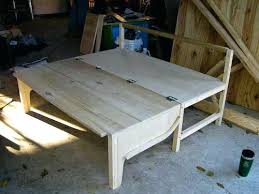 Diy Folding Bed Folding Bed Diy How To Build Trailer Bed Folding Chair Bed
