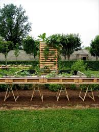 Raised Garden Beds From Pallets - raised garden beds made from used pallets dump a day