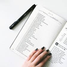 24 minimalist bullet journal layouts that u0027ll get you hard new