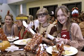 students dress up for annual thanksgiving meal la canada valley sun