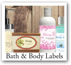 custom soap labels bath and products personalized labels