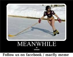 Canada Hockey Meme - meanwhile in canada les conneries 罌 macfly