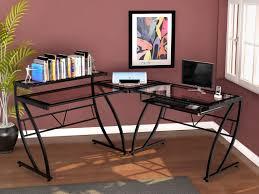 Z Line Belaire Glass L Shaped Computer Desk Z Line Designs Chandler L Shape Computer Desk Reviews Wayfair