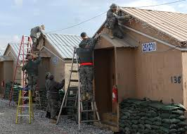 Hang Christmas Lights by Up On The Roof Top U003e U S Air Forces Central Command U003e Display