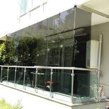 glas f r balkon 116 best glass balcony balkon images on sliding