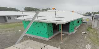 installation of the roof u2013 how integrale homes build a house