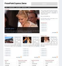 design magazine site online newspaper and magazine software prosepoint