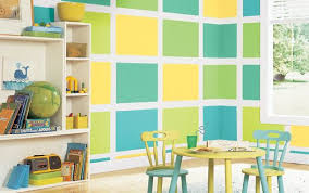 Paint Ideas For Kids Rooms by Kids Room Ideas Yellow Tosca Green Wallpaper Stickers Round