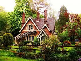 exterior design fairytale cottages for cottage designs wallpaper