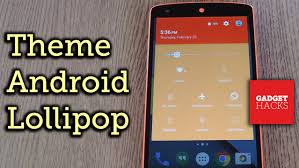 color themes for android theme android lollipop with custom colors how to