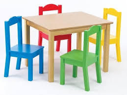 kids furniture table and chairs tot tutors kids table and 4 chair set primary wood tot tutors in