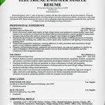 engineering resume template electrical engineer resume sample