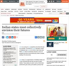 indian states must collectively envision their futures u2013 india