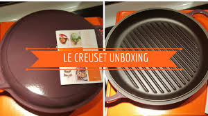 le creuset unboxing youtube