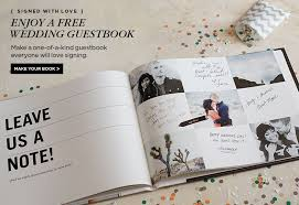 personalized wedding guest book shutterfly free custom wedding guest book valued at 39 99