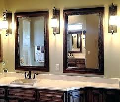 Framing Existing Bathroom Mirrors Custom Framing Mirrors Framed Bathroom Mirror Frames For Mirror