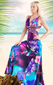 hawaiian wedding dresses hawaiian print bridesmaid dresses miami the wedding