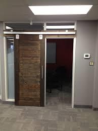 door rustica hardware industrial minimalist sliding barn doors