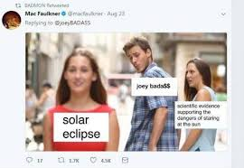 Can You Go Blind By Looking At The Sun Rapper Says He Won U0027t Go Blind By Looking At Solar Eclipse Is
