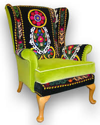 Patchwork Upholstered Furniture - best 25 patchwork chair ideas on colorful chairs