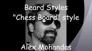 beard style chess board pattern youtube