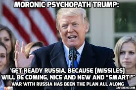 Syria Meme - david icke trump tells russia to get ready for missiles coming
