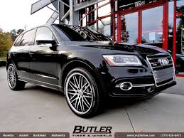 audi q5 tires audi q5 with 22in lexani cvx 44 wheels exclusively from butler