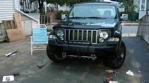 jeep liberty front bumper mopar grill guard jeepforum com