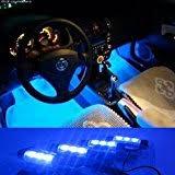 Interior Lighting For Cars Amazon Com Minger Usb Led Strip Light For Car 4pcs Multi Color