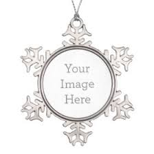 personalized ornaments pretty pattern gifts