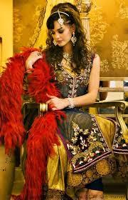 fashion elegant south asian bridal dress collection 2012 2013