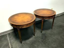 leather top side table leather topped coffee table classic coffee table with drawers