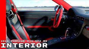 2018 porsche 911 gt2 rs interior youtube